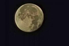 Moon 22nd October 2021 Handheld phone shot