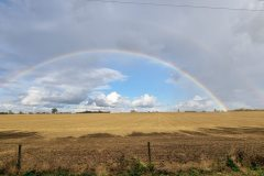 Rainbow over Bedfordshire 25th October 2021