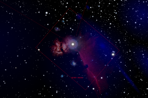 ED100 M42 Field of View with Atik One 6.0