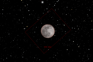 ED100 Moon Field of View with Atik One 6.0